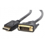 Gembird cable Displayport (M) - > DVI-D (24+1) 1m