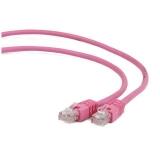Gembird patchcord RJ45, cat. 6,FTP, 1m, pink
