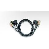 ATEN Cablu DVI/USB, Audio - 2m