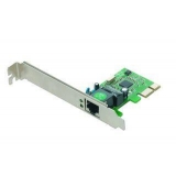 Gembird 1-GIGABIT PCI-Express Fast Ethernet Card, Realtek chipset