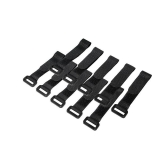 LOGILINK - Wire Strap Set with Velcro, 10 pcs.