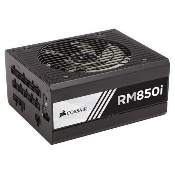 Sursa Modulara Corsair RM850i 850W 6x PCI-E 10 xSATA 8x Molex 2x Floppy PFC Activ SCP, OCP, OVP Certificare 80+ Gold CP-9020083-EU