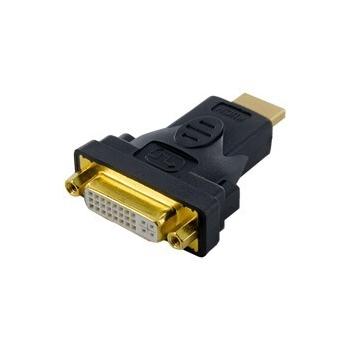 Adaptor 4World  HDMI [M] > DVI-I [F] (24+5), negru