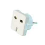 Gembird power adapter ENG/PL (plug PL/socket ENG)