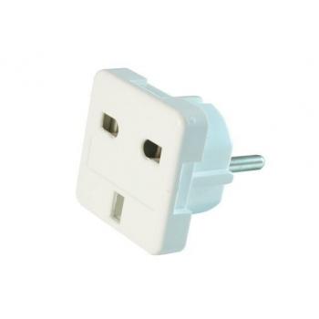 Gembird power adapter ENG/PL (plug PL/socket ENG)