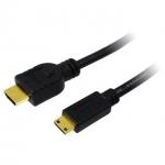 LOGILINK - Cablu HDMI-Mini HDMI, aurit, lung de 1,5m