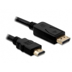 Delock cable Displayport (M) -> HDMI (M) 2m gold