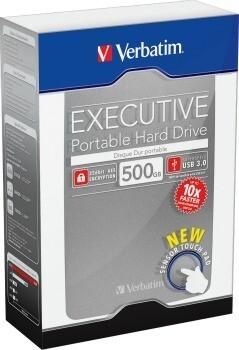 Verbatim hard disk portabil Executive II, USB 3.0 2,5'' 500GB,extern, grafit