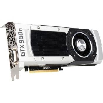 Placa Video EVGA nVidia GeForce GTX 980 Ti Superclocked 6GB GDDR5 384 bit PCI-E x16 3.0 DVI HDMI DisplayPort 06G-P4-4992-KR
