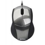 Mouse A4Tech N-100 V-Track 3 Butoane USB black N-100-1