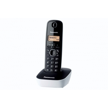 Telefon DECT Panasonic KX-TG1611FXW negru-alb