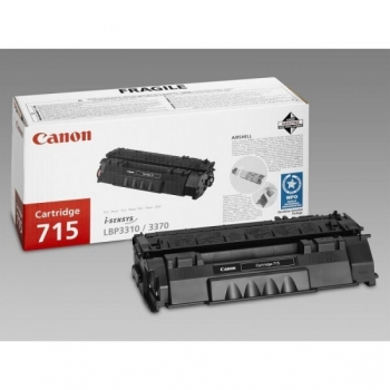 Cartus Toner Canon CRG-715 Black 3000 Pagini for LBP 3310, LBP 3370 CR1975B002AA