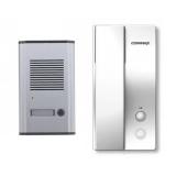 Kit Commax RM201HD Un post de interior tip telefon DP-2HP1 post de exterior din metal DR-201A 2+2 fire, extensibil cu DP-2HP