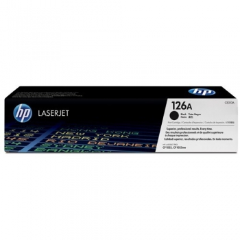 Cartus Toner HP Nr. 126A Black 1200 Pagini for LaserJet Pro CP1025, LaserJet Pro CP1025NW CE310A