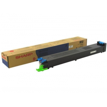 Cartus Toner Sharp MX27GTCA Cyan 15000 Pagini for MX-2300, MX-2700, MX-3500, MX-3501, MX-4500, MX-4501