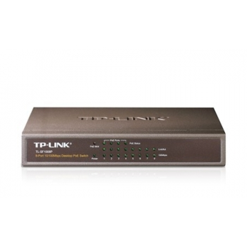 Switch PoE TP-LINK TL-SF1008P 8xRJ-45 10/100Mbps