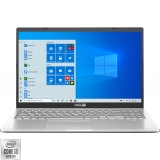 Laptop ASUS 15.6'' X515JA, FHD, Procesor Intel Core i3-1005G1 (4M Cache, up to 3.40 GHz), 8GB DDR4, 256GB SSD, GMA UHD, Win 10 Home S, Transparent Silver