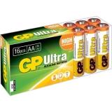 Baterie AAA (R3) ultraalcalina 16 buc/cutie GP GP24AU-BOX16