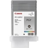 Pigment Ink Tank Canon PFI-103PGY Photo Grey 130 ml for iPF5100, iPF6100 CF2214B001AA