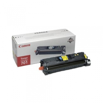 Cartus Toner Canon EP-701LY Yellow 2000 Pagini for LBP 5200, MF 8180C CR9288A003AA