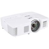 Proiector ACER S1383WHne, DLP, WXGA 1280x800, 3100 lumeni, 17.000:1, lampa 6000 ore, HDMI, USB, Composit, S-Video, RJ-45, boxa 2W, 2.5 Kg, telecomanda, culoare alb