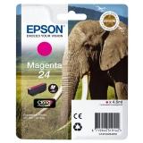 Epson T2423 Elephant Ink Cartridge - Magenta INK 24 ELEPHANT MAG SGPK C13T24234010