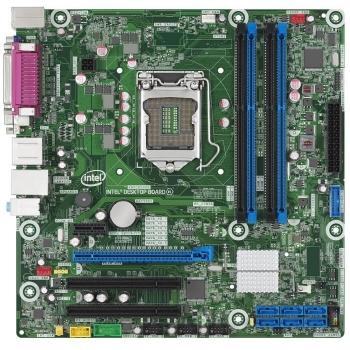 Placa de baza Intel DQ87PG Socket 1150 Chipset Intel Q87 4x DIMM DDR3 1x PCI-E x16 3.0 1x PCI-E x1 2x PCI DisplayPort DVI VGA 4x USB 3.0 MicroATX Bulk BLKDQ87PG