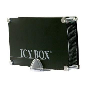 HDD Enclosure RaidSonic Icy Box IB-351AStU-B Enclosure for 3.5 inch PATA (IDE) HDD USB 2.0 Hybrid aluminium