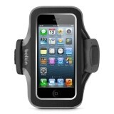 Husa Armband Belkin for iPhone 5, Slim Fit, Neopren black-grey F8W299vfC00