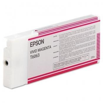 Cartus Cerneala Epson T6063 Vivid Magenta 220ml for Stylus Pro 4880 C13T606300