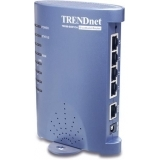 Router Trendnet TW100-S4W1CA 10/100 Mbps 1 x WAN, 4 x LAN DSL/Cable broadband cu switch 4 porturi