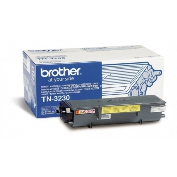 Cartus Toner Brother TN3230 Black 3000 pagini forDCP-8070D, DCP-8085DN, HL-5340D, HL-5350DN, HL-5350DNLT, HL-5370DW, HL-5380DN, MFC-8370DN, MFC-8380DN, MFC-8880DN, MFC-8890DW