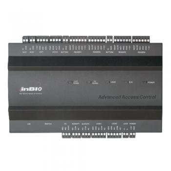 Centrala de control acces ZKAccess inBio biometrica pentru 2 usi bidirectionale. Capacitate 30000 de cartele si 3000 de amprente 100 000 Evenimente stocabile Wiegand 26/34 (EM4100, Mifare sau HID) INBIO-2-2