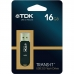 Memorie USB TDK Flash 16GB Trans-It-Mini negru USB16GBTDK