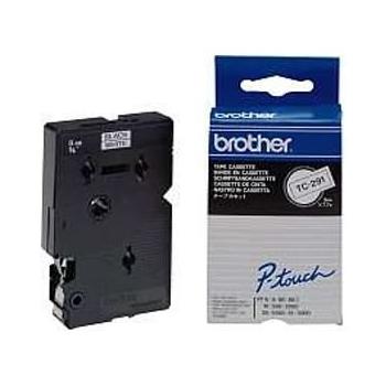 Banda Laminata Brother TC291 Dimensiune 9mm black on wihte