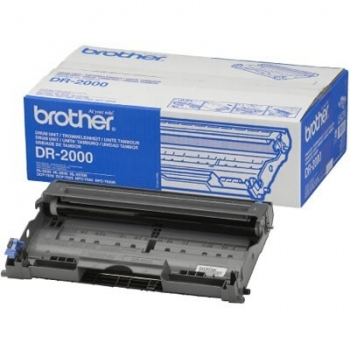 Unitate Cilindru Brother DR-2000 Black 12000 pagini for DCP-7010, DCP-7010L, FAX-2920, HL-2030, HL-2040, HL-2070N, MFC-7420, MFC-7820