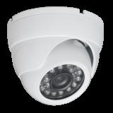 Camera video analogica tip dome pentru interior/exterior, dotata cu iluminator IR, protejata la intemperii, anti-vandal (carcasa metalica).Senzor imagine: 1/3 Korea Pixel Plus CMOS PC1089Pixeli efectivi: 752(H) x 582(V)Rezolutie: 600TVLSensib