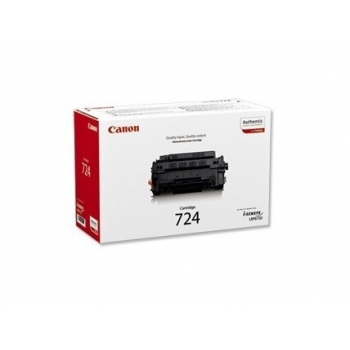 Cartus Toner Canon CRG-724 Black 6000 Pagini for LBP 6750DN CR3481B002AA