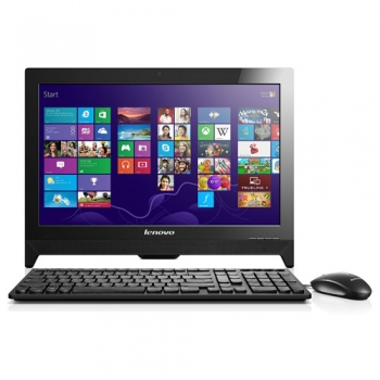 "LENOVO IdeaCentre AIO C260, 19.5"" HD+, Intel Celeron J1800 (2.41GHz; 2 Core), RAM 2GB DDR3, HDD 500GB 7200RPM, VGA int., DVD-RW, WiFi, 1 x USB 3.0, 3 x USB 2.0, 6 in 1 card reader, LAN, HD camera, USB Keyboard and mouse, Windows 8.1, Black"