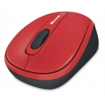 Mouse Wireless Microsoft Mobile 3500 BlueTrack 3 Butoane USB Flame Red GMF-00205