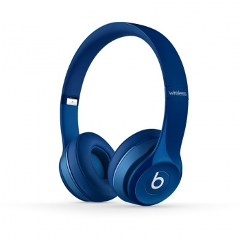 Casti Wireless Beats by Dr. Dre Solo 2 Blue cu microfon CPC00305