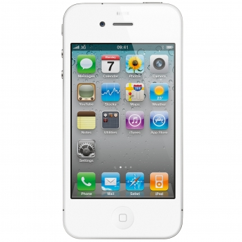 "Telefon Mobil Apple iPhone 4s White 3.5"" 640 x 960 A9 Dual Core 1GHz memorie interna 16GB 3G iOS5 APPLEI4S-16GB-W"