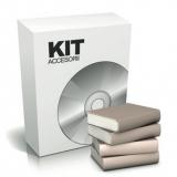 Kit accesorii KIT-HLK930-IC pentru modelul HLK930IC, Include programatorul de cartele, cartela receptor de date din memoria incuietorilor,softul de gestionare,20 de cartele IC smartcard