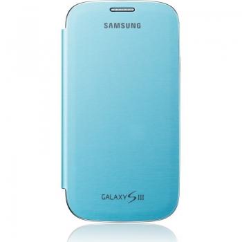 Husa Samsung EFC-1G6FLECSTD pentru i9300 Galaxy S III Light Blue