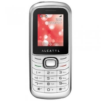 Telefon Mobil Alcatel One Touch 322 Silver ALC322SLV