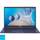 Laptop ASUS 15.6'' X515EA, HD, Procesor Intel Core i3-1115G4 (6M Cache, up to 4.10 GHz), 8GB DDR4, 256GB SSD, GMA UHD, No OS, Peacock Blue