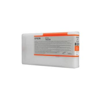 Cartus Cerneala Epson T653A Orange 200ml for Stylus Pro 4900 C13T653A00