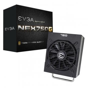 Sursa modulara EVGA SuperNOVA NEX750G 750W 6+2 PCI-E 4 6 Pin PCI-E 4 SATA 9 Molex 6 Floppy 1 80+ Gold 120-PG-0750-GR