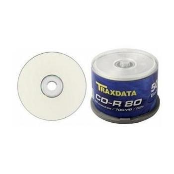 CD-R Traxdata 700MB 80 min. 52X 50bucati QCDR80TX52X50