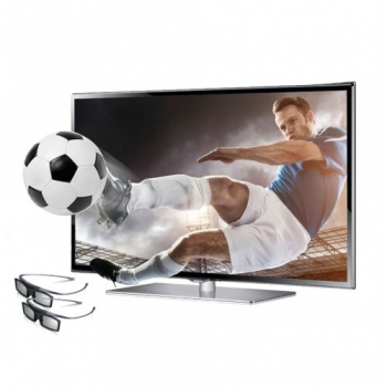 "Televizor LED Samsung 55"" UE55F6400 Smart TV Full HD 3D Retea RJ-45 Wireless UE55F6400AWXXH"